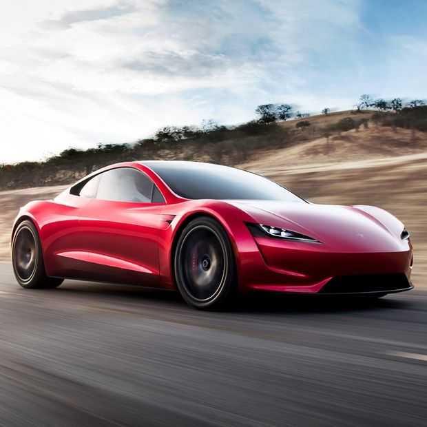 De nieuwe Tesla Roadster: supersnelle verrassing
