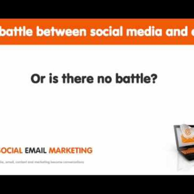 The battle between social media and email