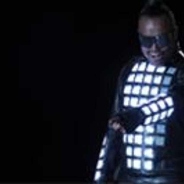 The Black Eyed Peas integreren verlichting, mode, muziek en technologie
