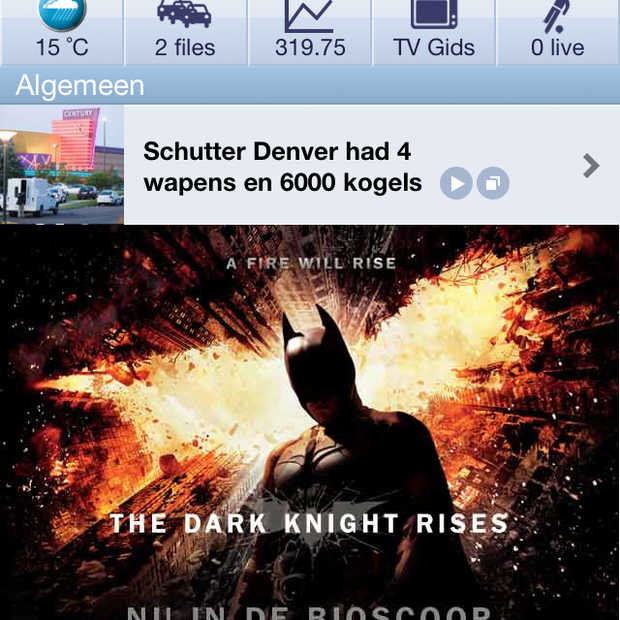 The Dark Knight Rises op Nu.Nl