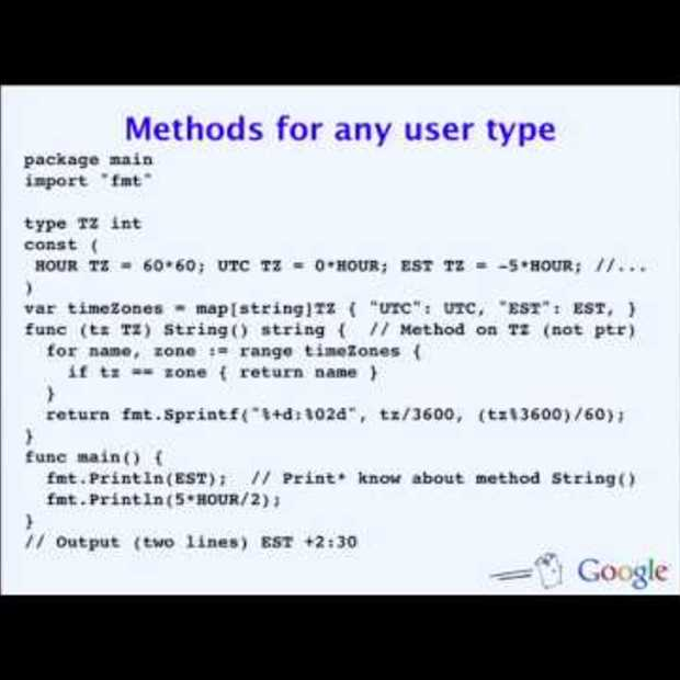 The Go Programming Language (Full video : 59:26 min)