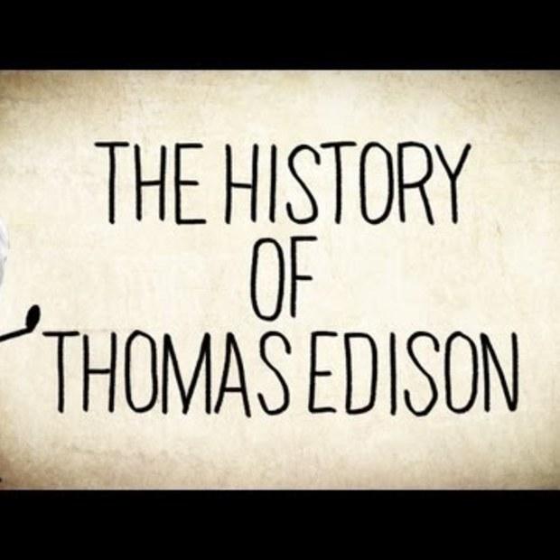 The History of Thomas Edison (165e verjaardag)