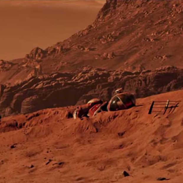 "Nieuwe trailer The Martian - ""Bring him home"""