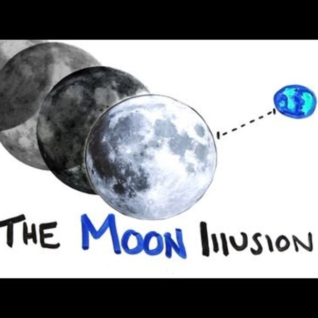 Weekend Viral : The Moon Illusion