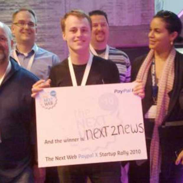 The Next Web PayPal X winnaars bekend
