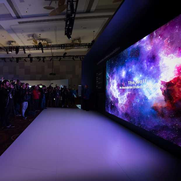 Een 219-inch 4K televisie? Samsung toont het op de CES