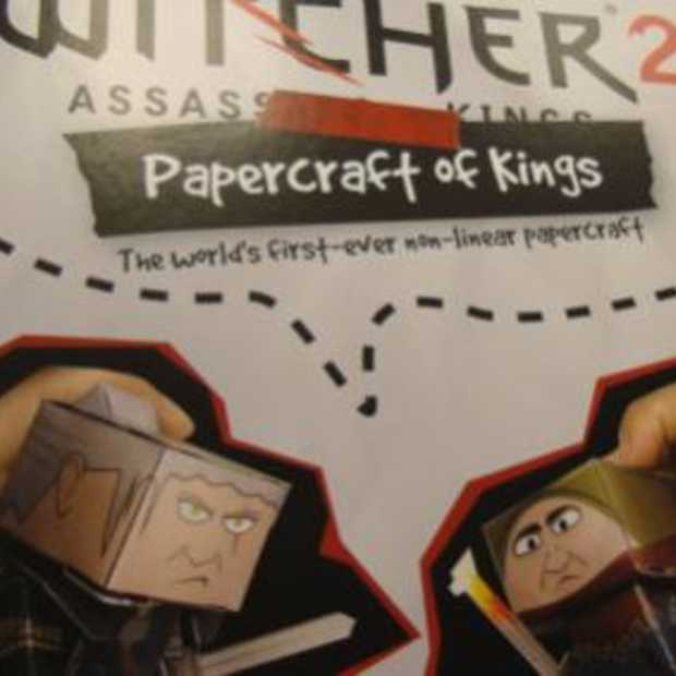 The Witcher: Papercraft of Kings - beste presskit ever
