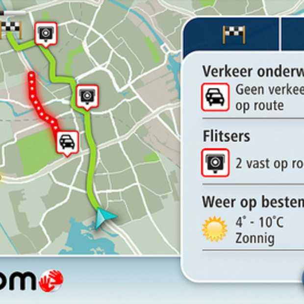 Tomtom biedt gratis navigatie-update voor nieuwe maximumsnelheden