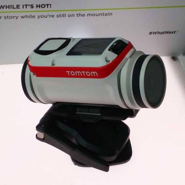 TomTom gaat de strijd aan met GoPro