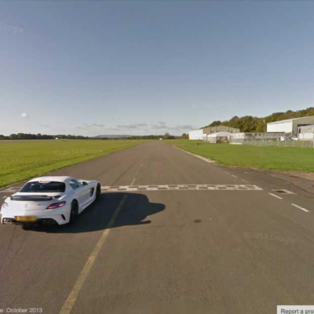 Top Gear test track nu ook beschikbaar via Google Street View
