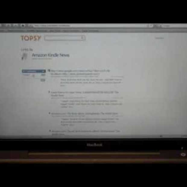 Topsy.com first look and demo