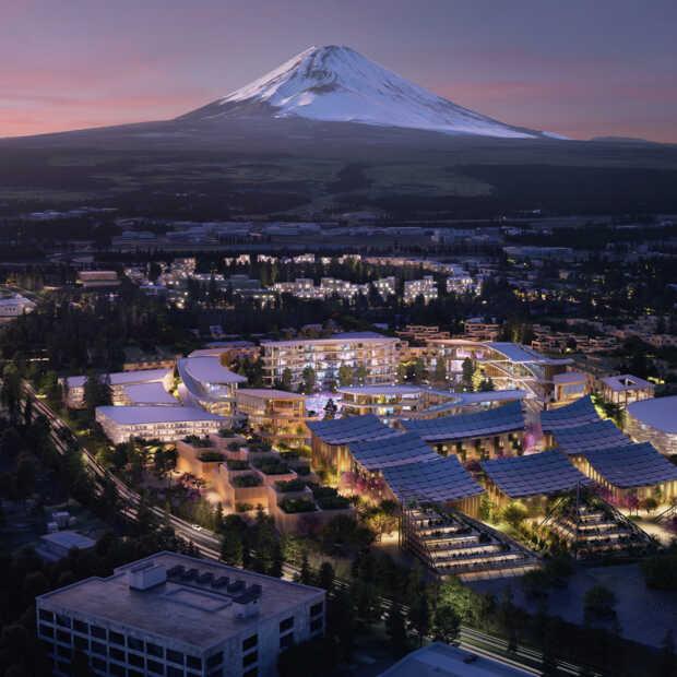 Toyota start met bouw stad van de toekomst: Woven City