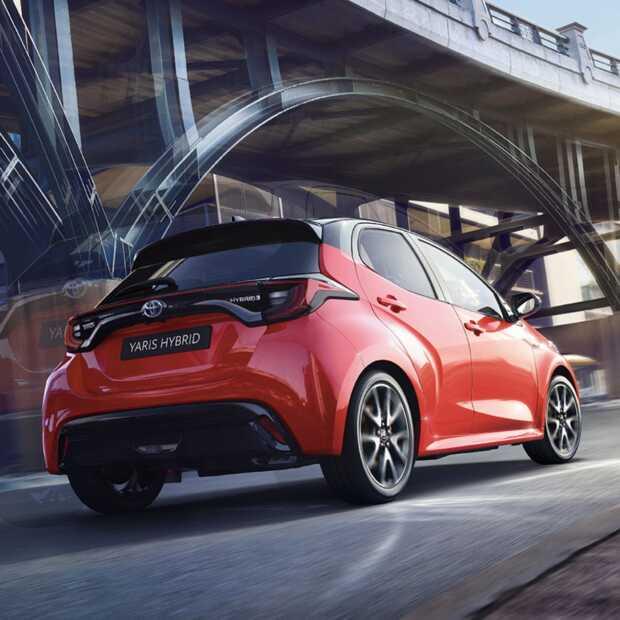 Toyota Yaris wint verkiezing Auto van het jaar 2021