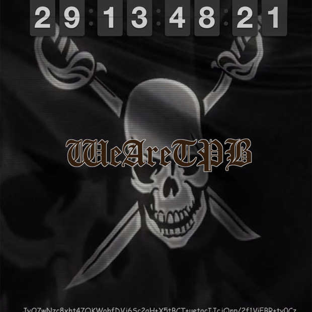 The Pirate Bay telt af naar 1 februari