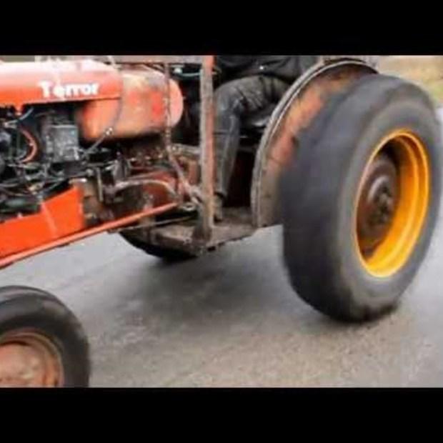 Weekend Viral : Traktor Racing Volvo terror