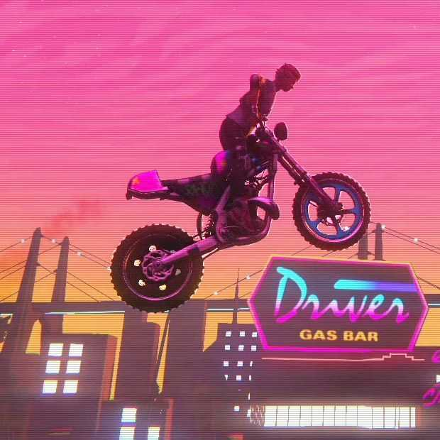 Trials of the Blood Dragon: bloed onder de nagels