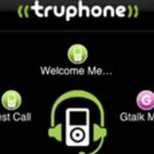 Truphone bellen met je iPod Touch
