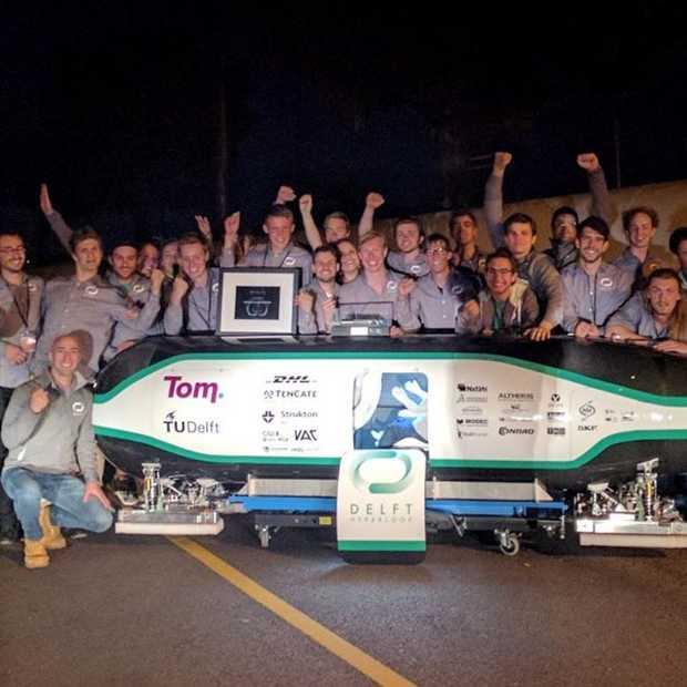 Studenten TU Delft winnen hyperlooprace
