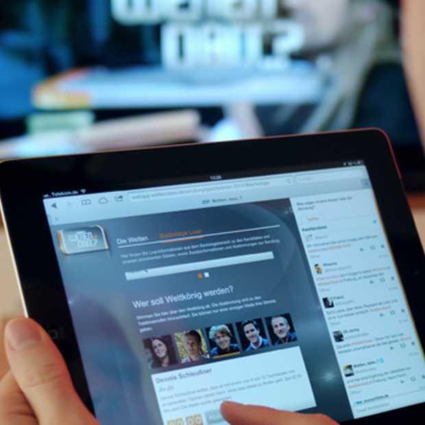Tweede scherm gebruik is nog altijd een uitdaging voor marketeers
