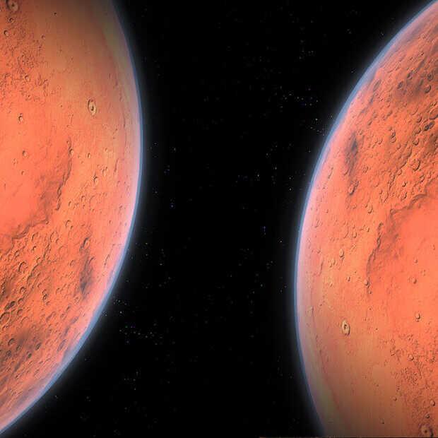 Is er een tweede planeet Mars?