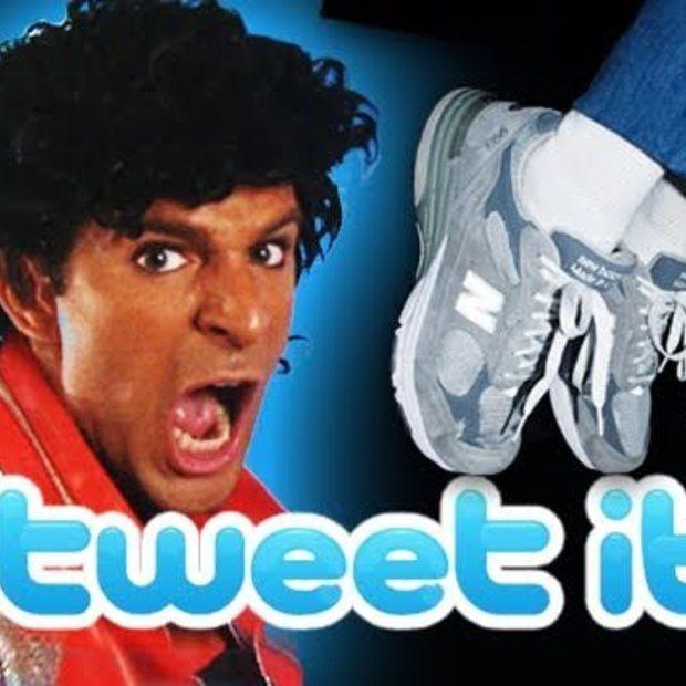 Op de muziek van Beat It : Tweet It
