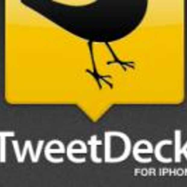 Tweetdeck voor iPhone & iPod Touch