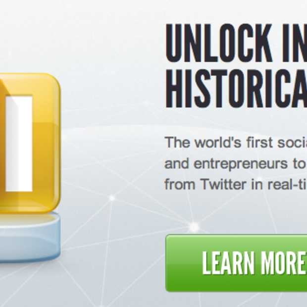 Tweets tot 2 jaar terug te koop bij Datashift