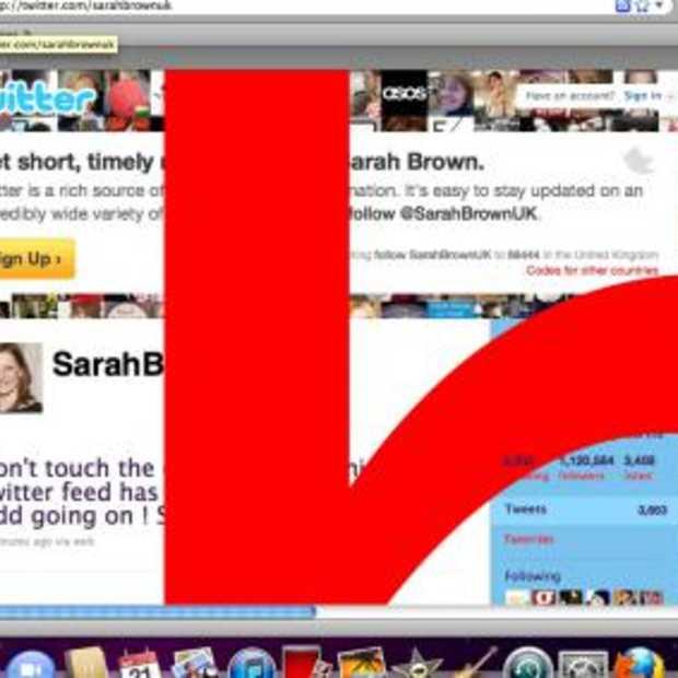 Twitter bug actief