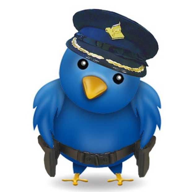 Twitter en Politie: stop of ik tweet!