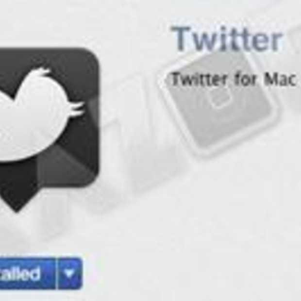 'Twitter for Mac' wordt vandaag gelanceerd