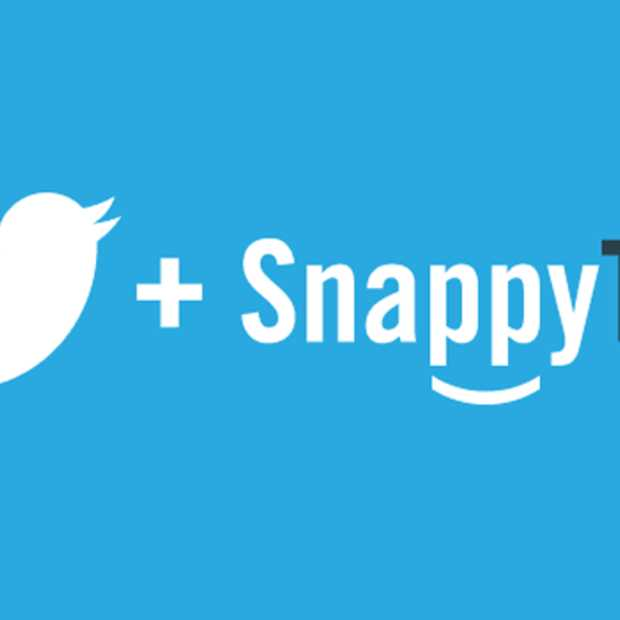 Twitter neemt SnappyTV over