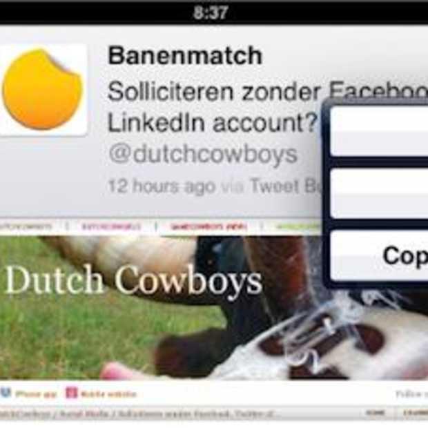 Twitter voor iPad