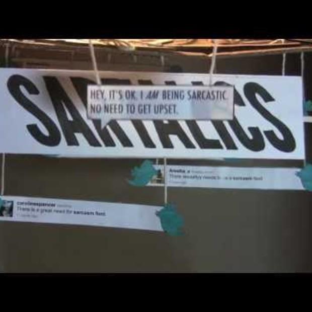 Twitterblitz for Sartalics (Digital Flash Mob)