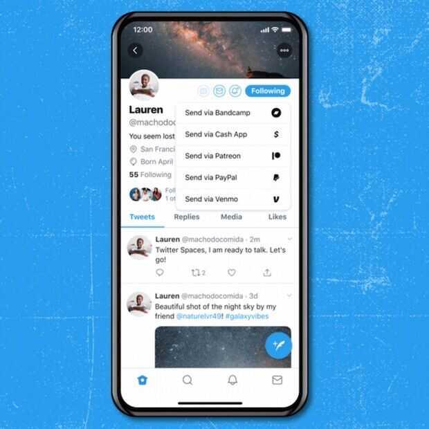 Twitter lanceert digitale fooienpot 'Tip Jar'