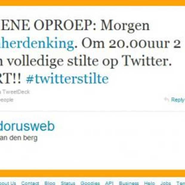 #twitterstilte op 4 mei 2010 om 20 uur