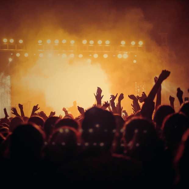 U2 concert gehouden op de energie van 4 waterstof auto's