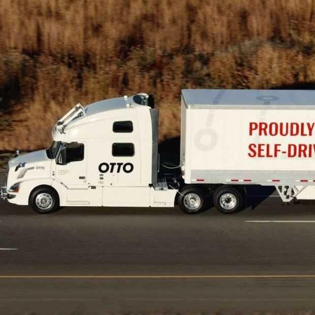Uber stopt (voor nu) met ontwikkeling zelfrijdende vrachtwagen