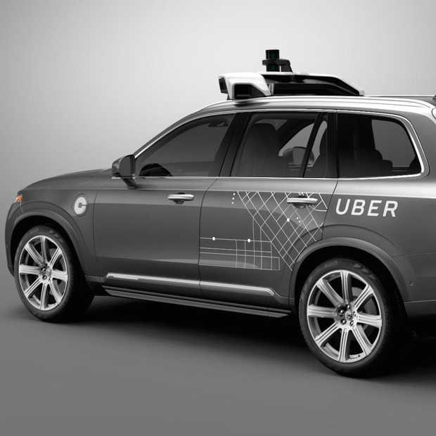Uber start deze maand nog met proef zelfrijdende auto's