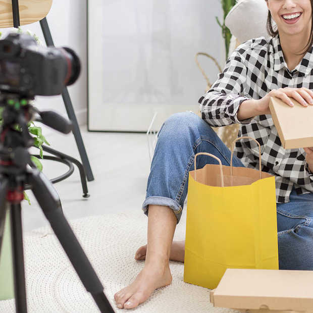 ​Influencer packaging: jouw merk en verpakking optimaal presenteren op social media