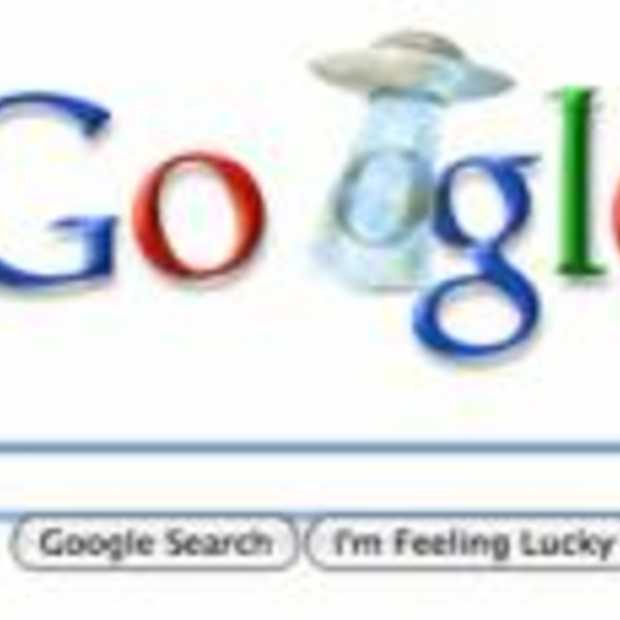 Unexplained Phenomenon boven Google logo