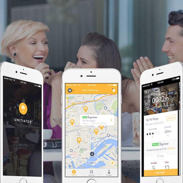 Lege restaurants zijn door app verleden tijd