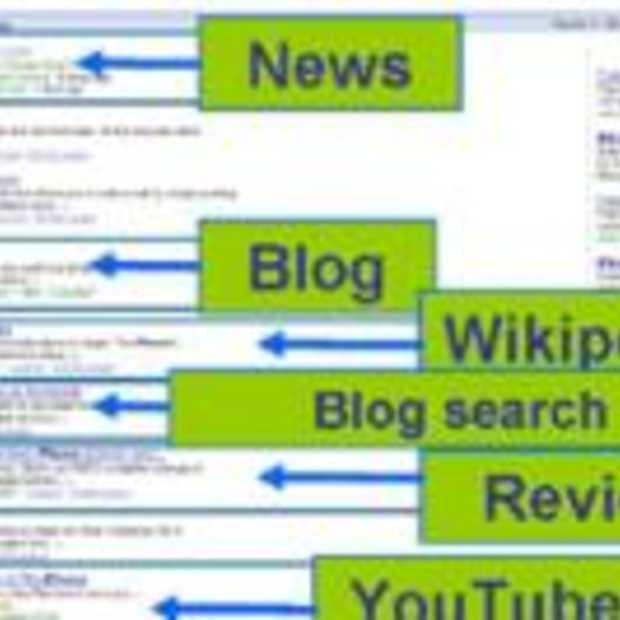 Universal Search versterkt merkwaarde