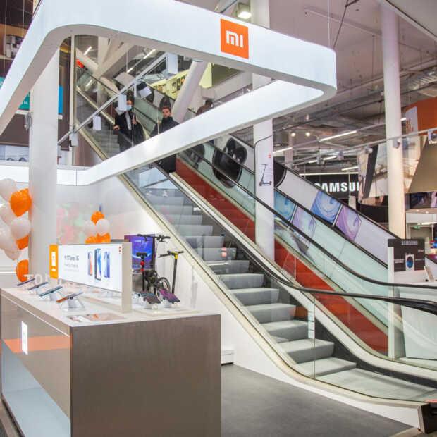Xiaomi opent haar eerste shop-in-shop