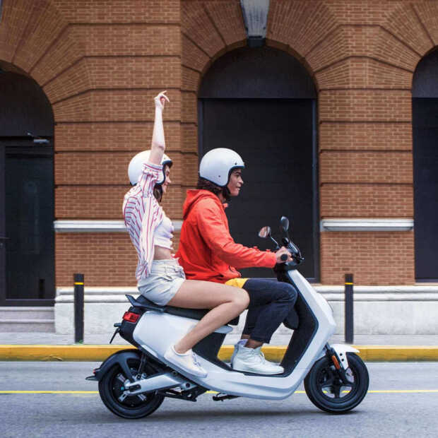 Nieuwe 'groene' scooter van NIU