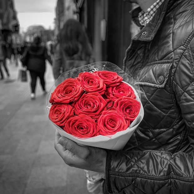 Het is Valentijnsdag: iedereen haakt weer creatief in