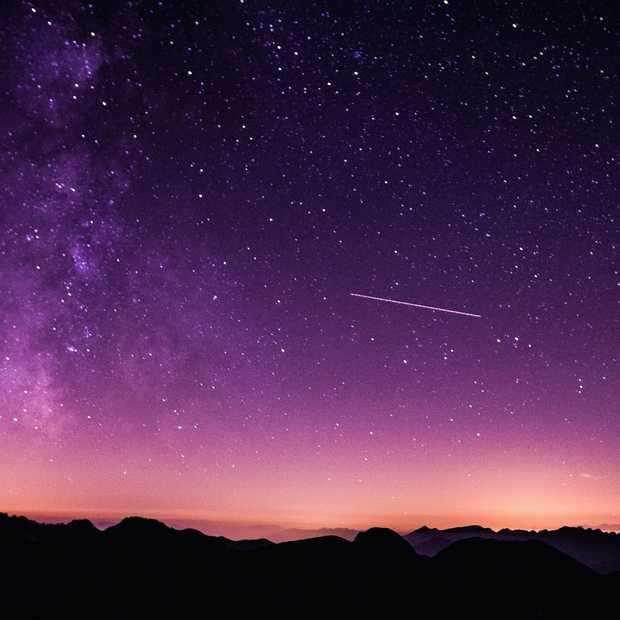 Vanavond: 25 vallende sterren per uur!