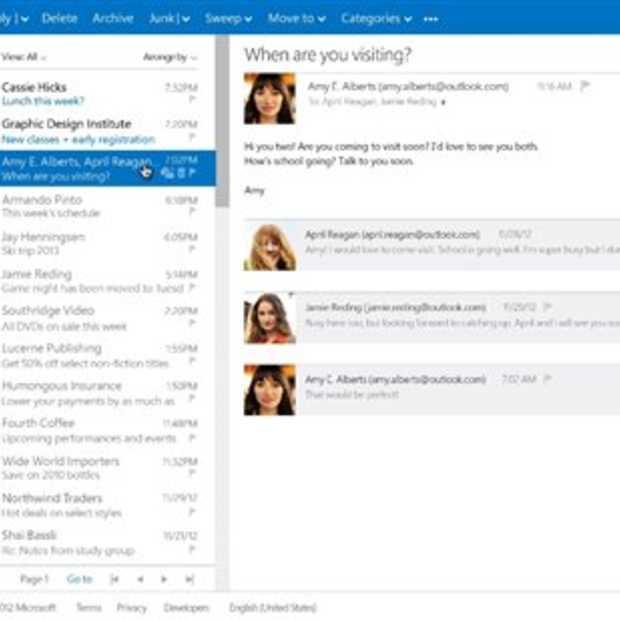 Vanaf vandaag gaan alle Hotmail gebruikers geleidelijk over naar Outlook