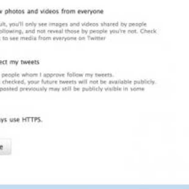 Veiliger Twitteren met HTTPS