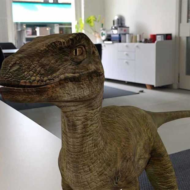 Nu ook dinosaurussen uit Jurassic World in 3D via Google