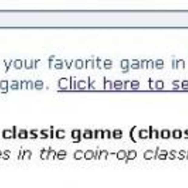 Verkiezing XBOX Live Arcade game 2007